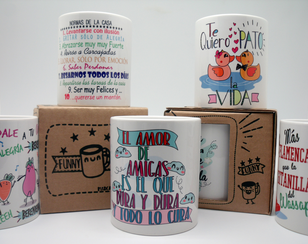 Tazas Funnycup